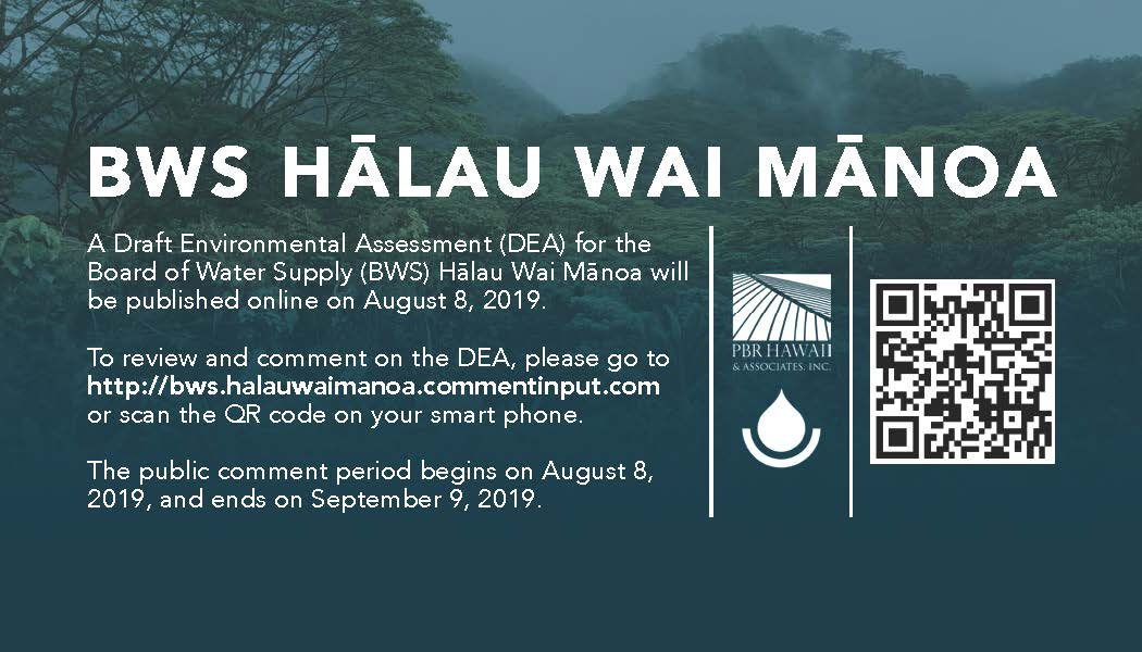 halau wai manoa draft environmental assessment info