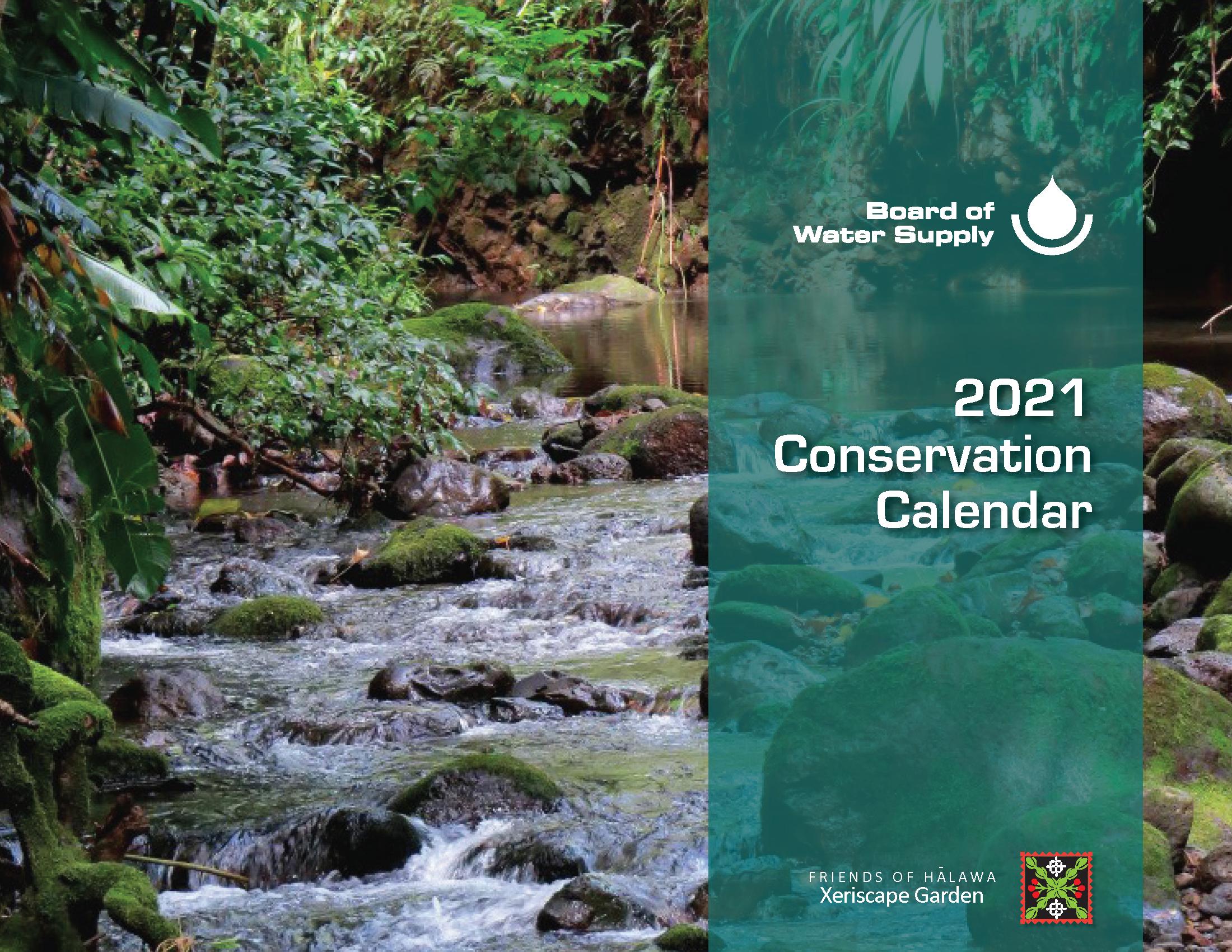 Uh Manoa Fall 2022 Calendar.Conservation Calendar Board Of Water Supply
