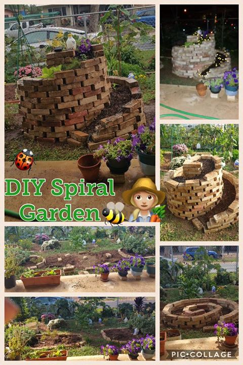 Spiral and Keyhole Gardens