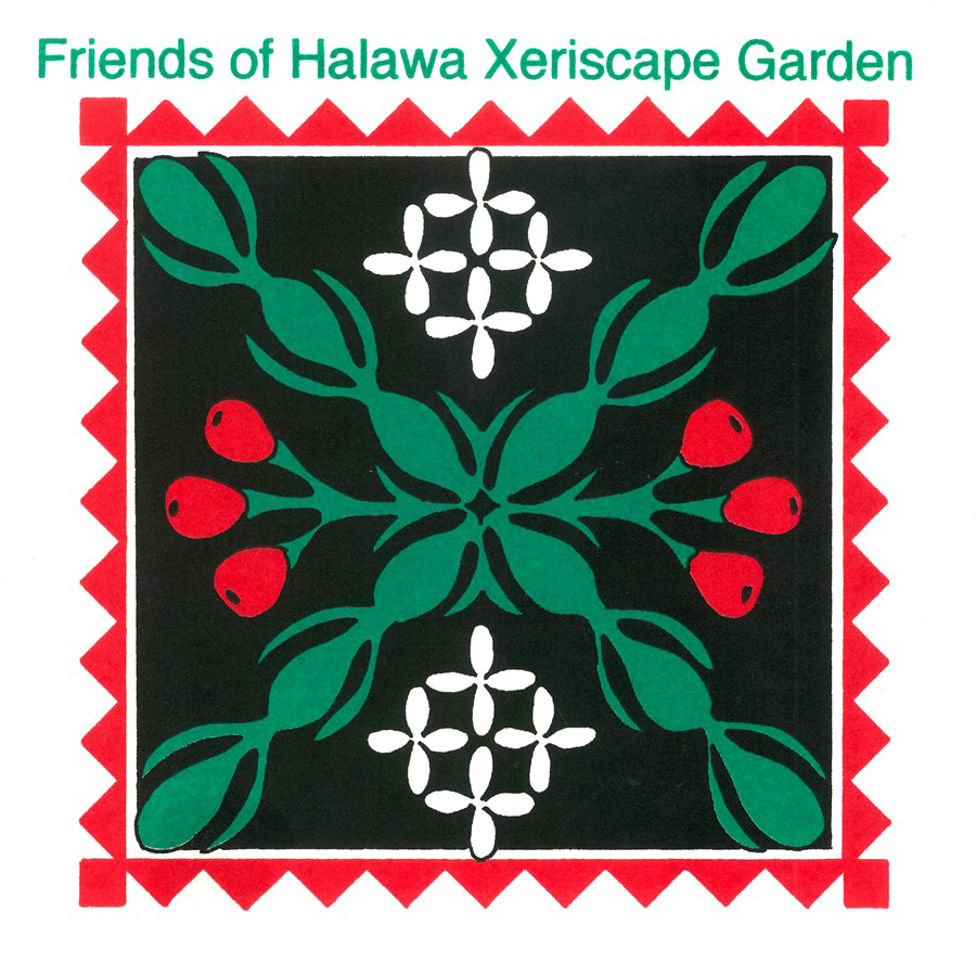 friends of halawa xeriscape garden logo