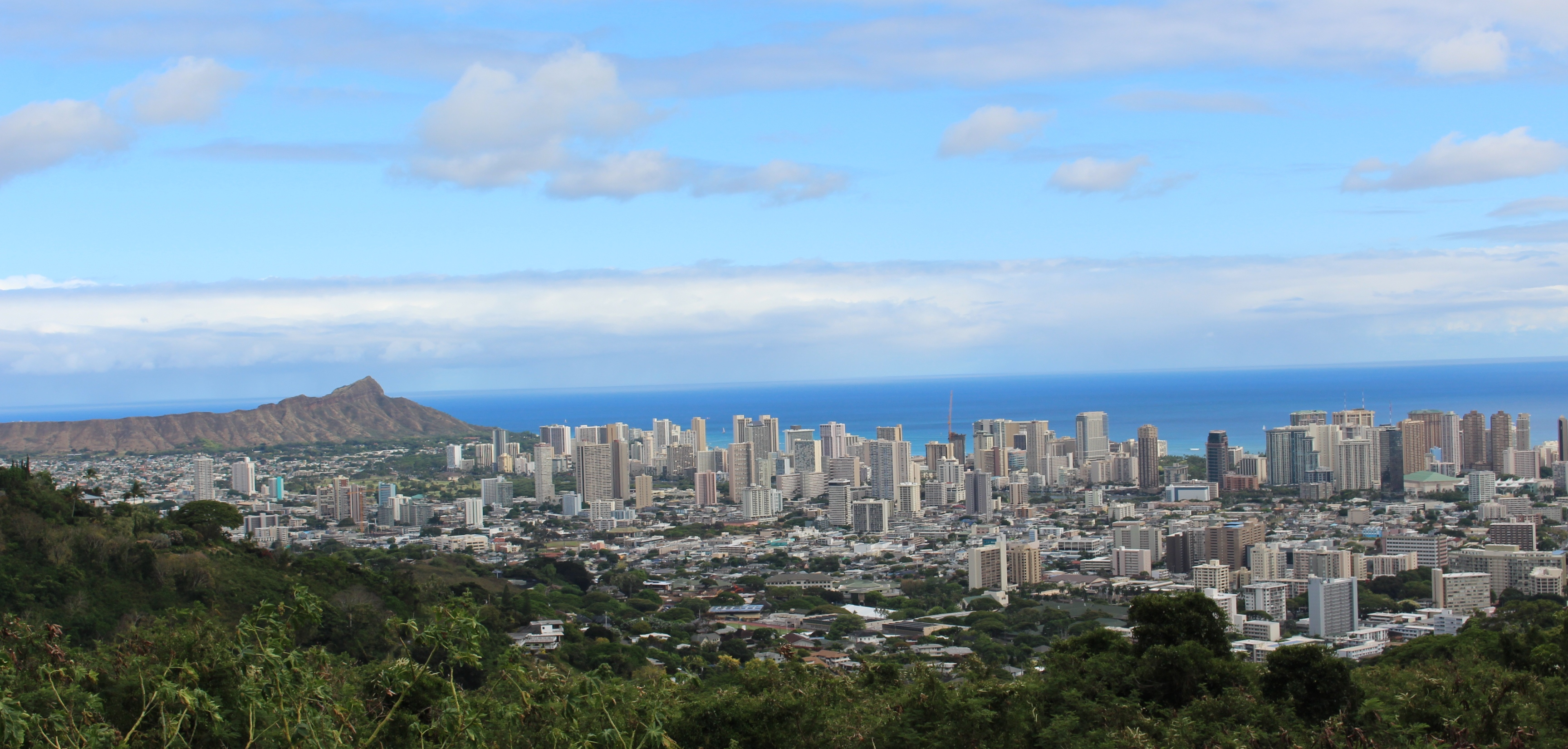 honolulu cityscape 2017 june
