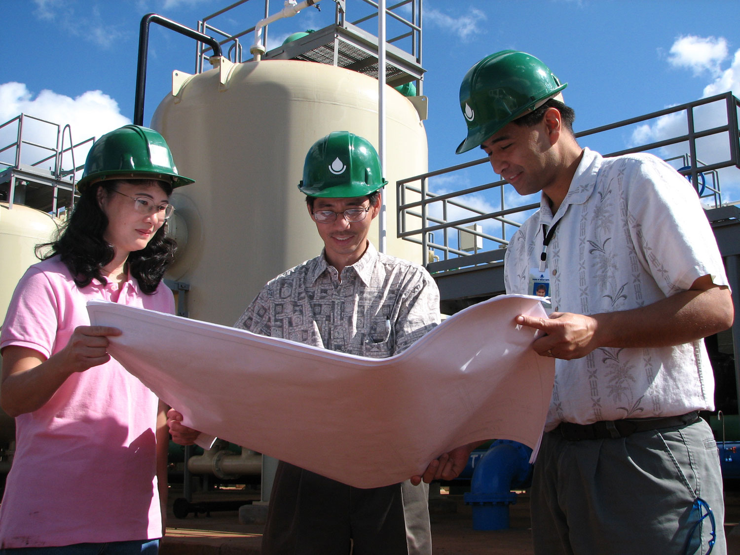 water recycling engineers