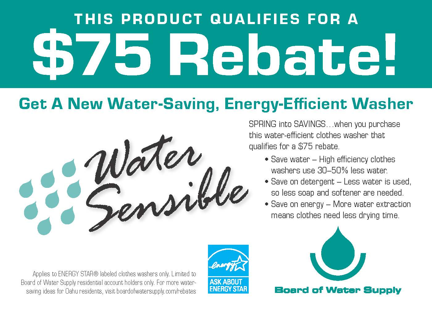 washer rebate