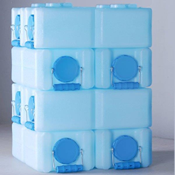 emergency water storage - water bricks