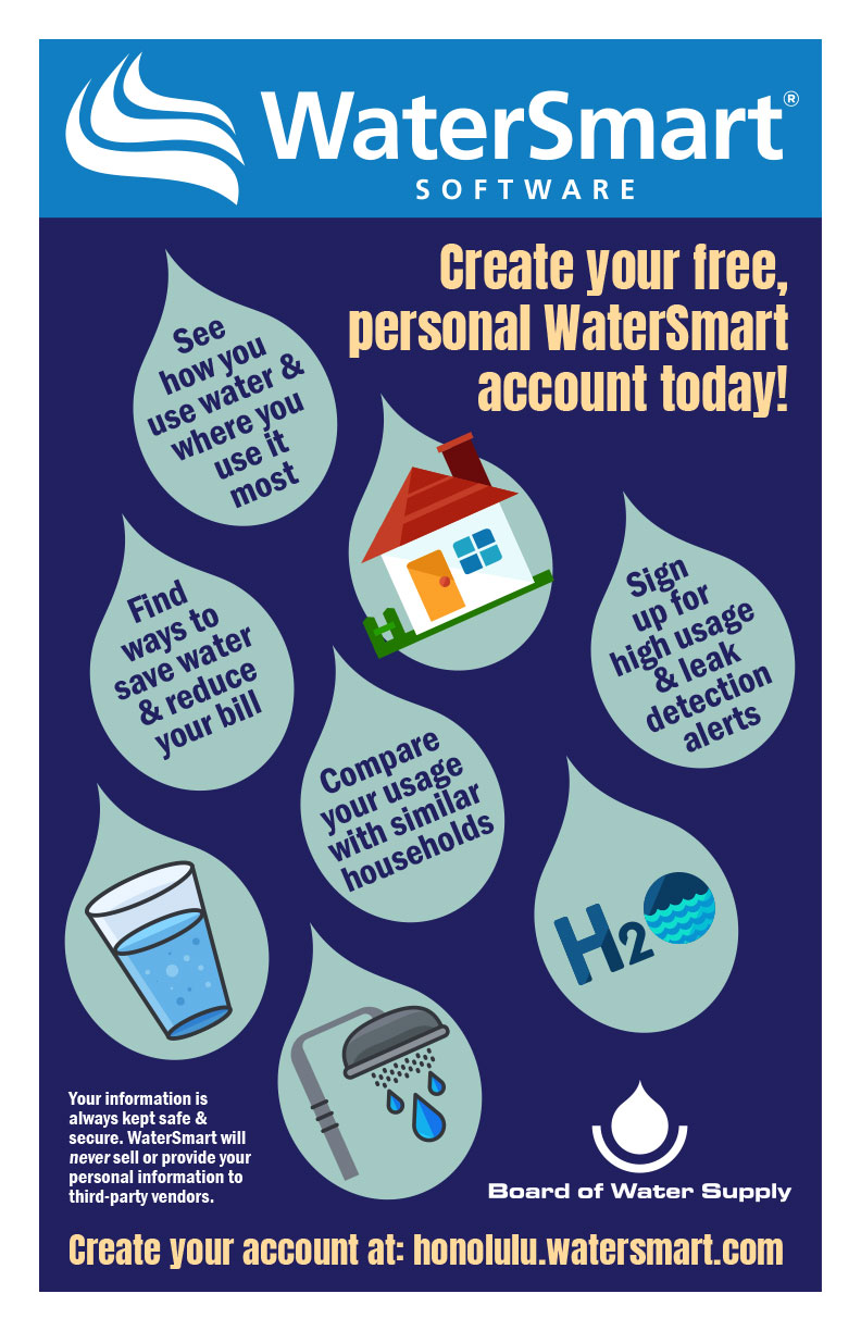 watersmart create your account flyer