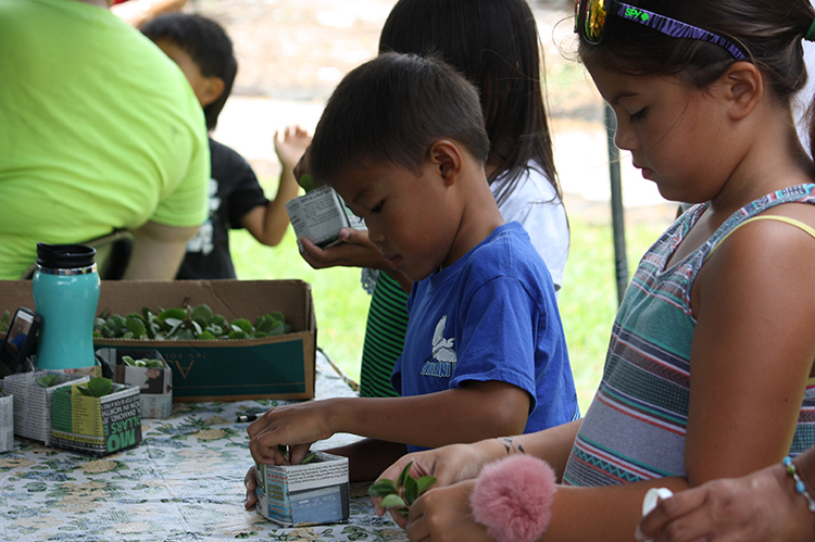 decorate eggs xeriscape way workshop