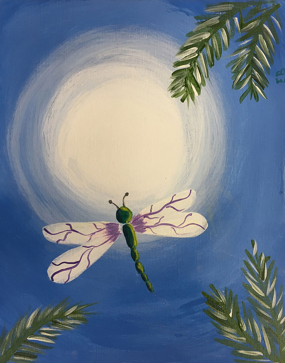 painting dragonfly