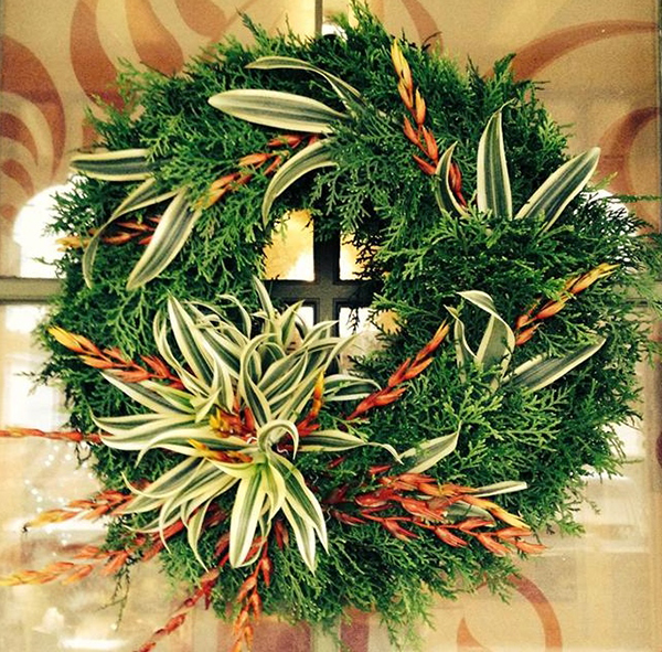 xeric holiday wreath workshop