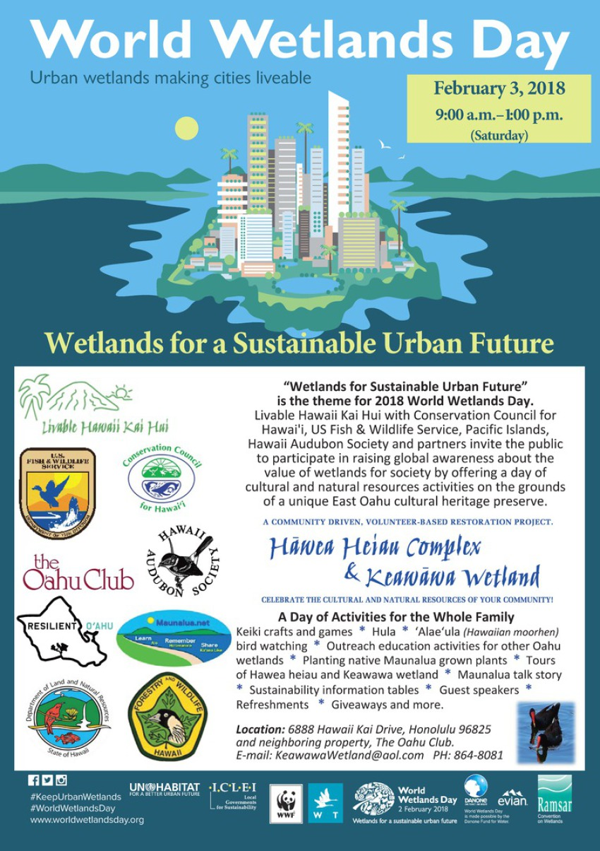 world wetlands day 2018